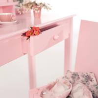 Make up-tafel met hocker Roba (2-delig), Roba