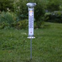 Best Season Solar thermometer met warm witte LED