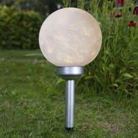 Best Season LED solar bollamp Luna wit