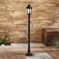 Lampenwelt.com Tuinpadverlichting Nane in lantaarnvorm, zwart