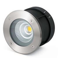 Lorefar (FARO) LED grondspot inbouwl. Suria-24 m, 24° stralingsh.