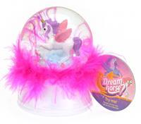 Toi-Toys Toi Toys nachtlamp/sneeuwbol Dream Horse 9 cm led wit/roze