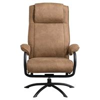 Leen Bakker Relaxfauteuil Vic - taupe