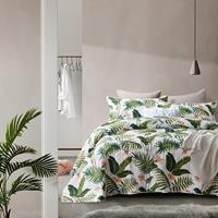 Bedsprei Botanical White Wit 180 x 250