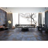 EnergieKer Tegel Flatiron Blue Mat Blauw 61x61 Gerectificeerd