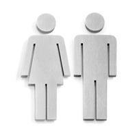 Indici pictogram Zack toilet man/vrouw los