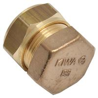 Sanivesk knelfitting eindkap 15 mm V