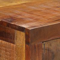 Wandtafel 120x30x80 cm massief acaciahout
