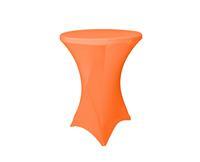 Reke Stretch rok oranje statafel 80cm