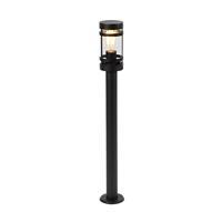 qazqa Moderne buitenlamp zwart 80 cm IP44 - Gleam