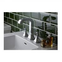 heritagebathrooms 3 Gats Wastafelkraan  Somersby 192x108x66mm Chroom