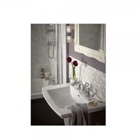 heritagebathrooms Wastafelmenger 3 kraangat Gracechurch 132 x 150 x 600 mm Heritage