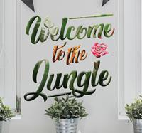 tenstickers Welcome to the jungle sticker
