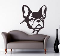 tenstickers sticker hond Bulldog