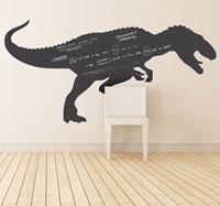 tenstickers Kinderkamer krijtbord sticker dinosaurus