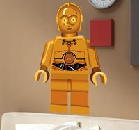 tenstickers Starwars C3PO lego sticker