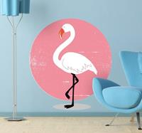 tenstickers Flamingo Muursticker