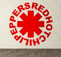 tenstickers Sticker Red Hot Chili Peppers