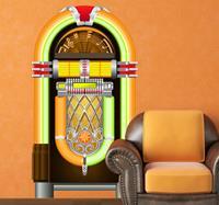 tenstickers Muursticker Vintage Jukebox