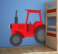 tenstickers Tractor boerderij sticker