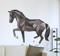 tenstickers Muursticker Paard Modern en Abstract
