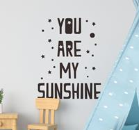 tenstickers Muurstickers kinderkamer you are my sunshine
