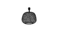 Light & Living Lampvoet Ø32x28,5 cm ALWINA mat zwart