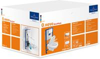 Villeroy & Boch Villeroy en Boch Hangend Toilet O.novo Wit Randloos Toiletbril Soft Close Quick Release ISI173152