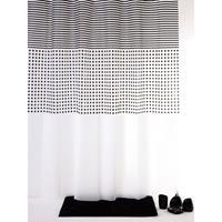 Allibert Douchegordijn Grey Lijn 180x200 cm