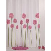Allibert Douchegordijn Blossom Bloemen 180x200 cm