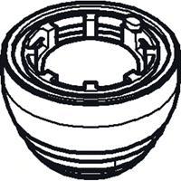 Grohe onderdelen reservoir set voor hoofddouche