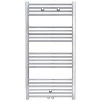 sanigoods Base handdoek radiator 120x50 638 watt MO aansluiting chroom