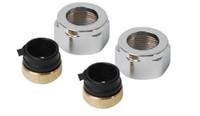 plieger adapter voor onderblok M24x15 mm prijs= per stuk, chroom