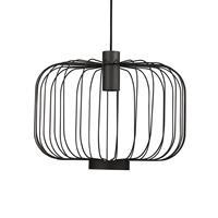 Nowodvorski Hanglamp Allan Ø 48 cm zwart