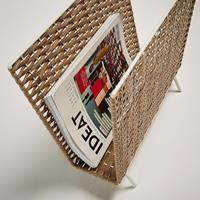 Home24 TijdschriftenhouderShibori', kleur wit