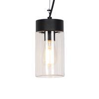 qazqa Moderne buitenhanglamp zwart - Jarra