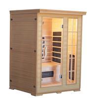 badstuber Kombi infrarood sauna 124x116cm 2 personen