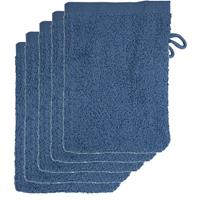 The One Towelling The One Voordeelpakket Washandjes Faded Denim - 10 stuks