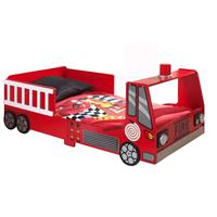 Vipack autobed Fire Truck - rood - 60x77x147,8 cm