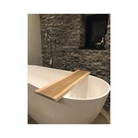 Throne Bathrooms Badplank massief eiken boomstam 78x20x2 cm 74711001