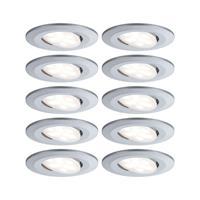 Paulmann LED inbouwspot Calla 10 dimbaar chroom