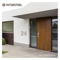 intersteel XXL huisnummer 50 cm hoog - RVS