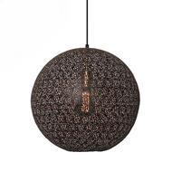 Freelight Hanglamp Oronero Ø 40 cm zwart-goud