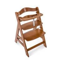 Hauck Kinderstoel Alpha Plus walnut - Bruin
