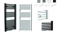 sanicare design radiator midden aansluiting recht 120 x 45 cm. Inox-look