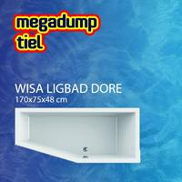 Wavedesign Ligbad Dore 170X75X48 cm Pergamon - 170x75x48 cm Links Pergamon