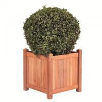 express Lombok teaken plantenbak 45x45x47 cm