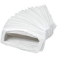 Plieger luchtslang 204x60mm 3 meter wit