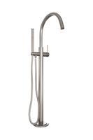 brauer Brushed Edition vrijstaande badkraan type 1 Nikkel Geborsteld PVD