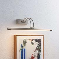 Lucande Dimitrij LED schilderijlamp in mat nikkel